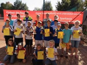 Jugend Clubmeisterschaften des Tennis Vereins Gaienhofen 2012