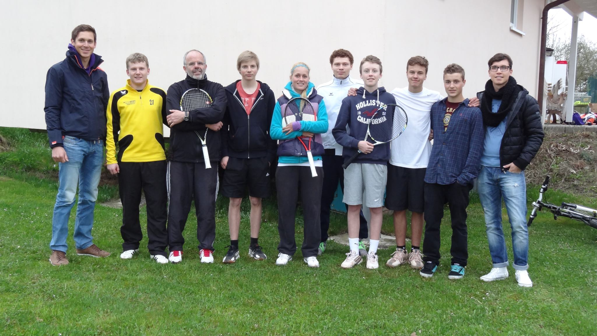 Trainerteam Tennistraining TC Gaienhofen